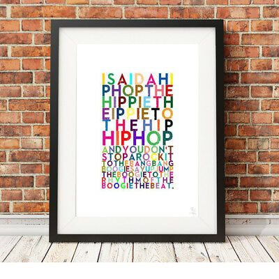 THE SUGARHILL GANG ❤ Rapper's Delight ❤ Poster Art Limited Edition Prints #7 • 15.95£