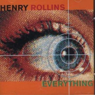 Henry Rollins-everything Cd New • 10£