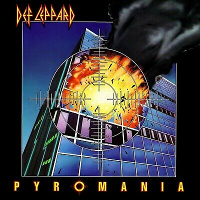 DEF LEPPARD Pyromania BANNER HUGE 4X4 Ft Fabric Poster Tapestry Flag Album Art • 22.05£