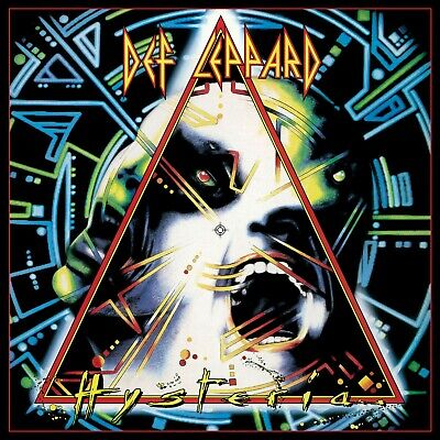 DEF LEPPARD Hysteria BANNER HUGE 4X4 Ft Fabric Poster Tapestry Flag Album Art • 22.05£