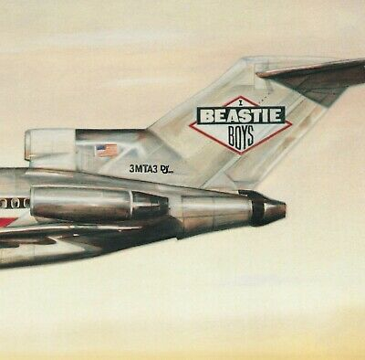 BEASTIE BOYS License To Ill BANNER HUGE 4X4 Ft Fabric Poster Tapestry Flag Art • 22.19£