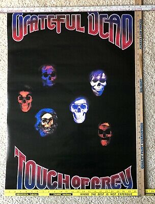 """Vintage Grateful Dead Poster Touch Of Grey Made In USA Original 24"""" X 34"""" • 15.80£"""