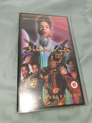 *Prince 3 Chains Of Gold Symbol Rare Collectors Item Tour VHS CD* • 49.99£
