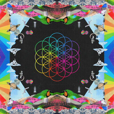 COLDPLAY A Head Full Of Dreams BANNER HUGE 4X4 Ft Fabric Poster Tapestry Flag • 22.05£