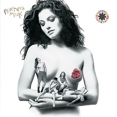 RED HOT CHILI PEPPERS Mothers Milk BANNER HUGE 4X4 Ft Fabric Poster Tapestry Art • 21.24£