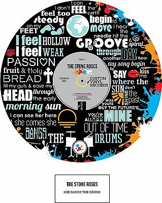STONE ROSES - MEMORABILIA - Print - Limited Edition - An Ideal Gift  • 30£