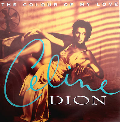 CELINE DION Display The Colour Of My Love UK PROMO ONLY Rare 12  X 12  Poster • 7.95£