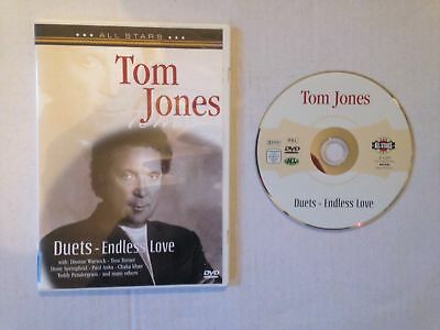 Tom Jones Dvd Duets - In Concert Enless Love 20 Tracks Tina Turner / Chaka Khan • 1.50£