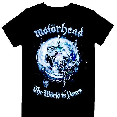 Motorhead - The World Is Yours Official Licensed T-Shirt • 15.99£