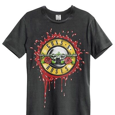 Amplified Guns N' Roses  - Bloody Bullets Official Licensed T-Shirt • 17.99£