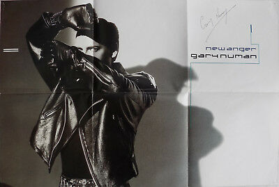 GARY NUMAN SIGNED POSTER Record POSTERBAG 1988 - 55cm X 38cm  • 29.95£