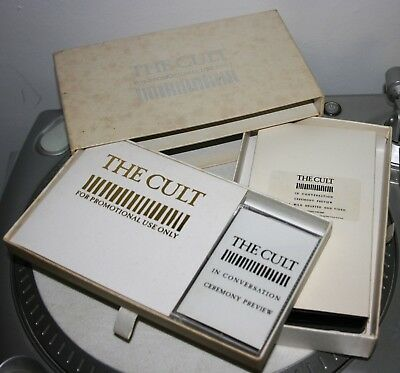 The Cult  Ceremony  Promotional Cd/mc/vhs Collection Box • 40£