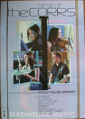 CORRS POSTER Best Of The Corrs UK PROMO ONLY Original Rare 32  X 24  MINT- • 8.95£