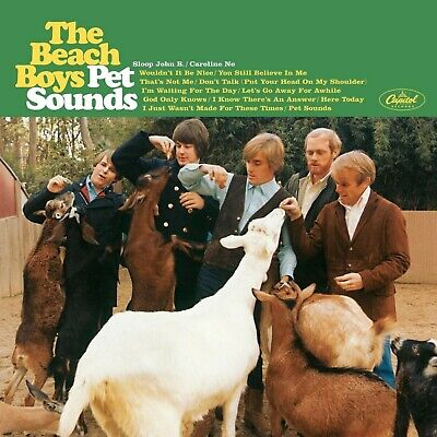 The BEACH BOYS Pet Sounds BANNER HUGE 4X4 Ft Fabric Poster Tapestry Flag Art • 22.19£