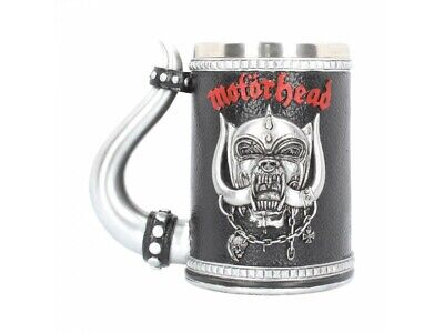 MOTORHEAD TANKARD Offically Licensed 14.5cm Cup Mug Warpig Gift BNIB - FREE P+P • 39.99£