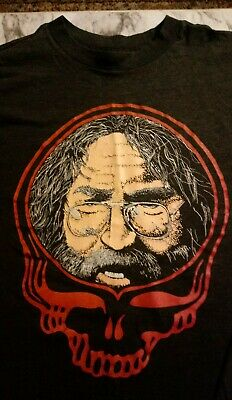 Grateful Dead - Vintage Jerry SYF T-shirt Lot Bootleg From 1980s • 81.48£