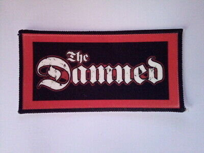 The Damned  Woven Sew On Patch • 4.12£
