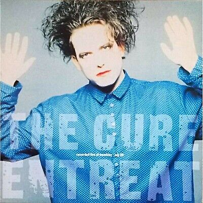 The CURE Entreat BANNER HUGE 4X4 Ft Fabric Poster Tapestry Flag Album Cover Art • 22.48£