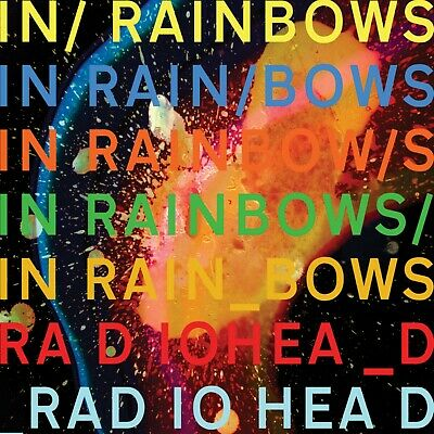 RADIOHEAD In Rainbows BANNER HUGE 4X4 Ft Fabric Poster Tapestry Flag Album Cover • 21.24£
