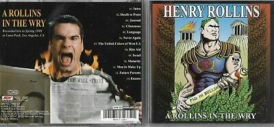 Henry Rollins - Rollins In The Wry A (2001) CD Album • 4.99£