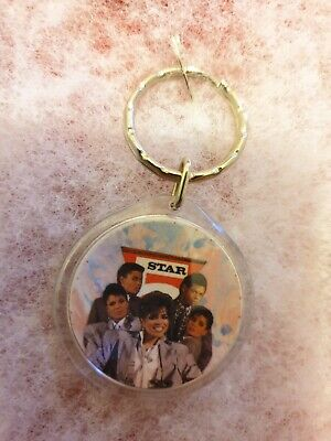 BRAND NEW 5 FIVE STAR 2 Sided *RARE COLLECTION *OFFICIAL FAN CLUB* KEYRING • 7.99£