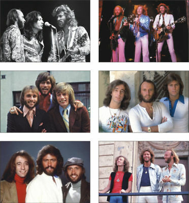 The Bee Gees 6 Card POSTCARD Set • 5.99£