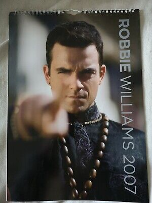 Robbie Williams Official 2007 Calender • 3.50£
