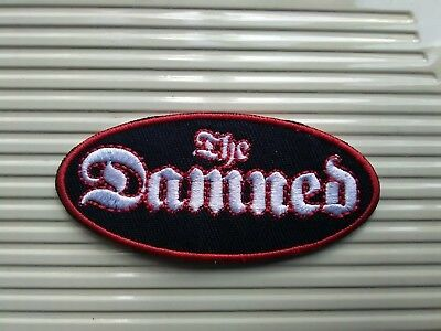 The Damned  Woven Sew Or Iron On Patch • 3.94£