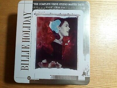 CDS Billie Holiday The Complete Verve Studio Master Takes • 45£
