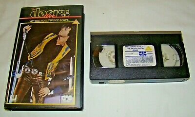 The DOORS Live At The Hollywood Bowl VHS Video 1987 • 7.95£