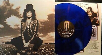 Marc Bolan  - 'skycloaked Lord' -  Usa Fm Radio Acoustic 12  Blue Vinyl Album. • 18£