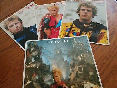 The Police Set Of 4 Pictures  • 17.19£