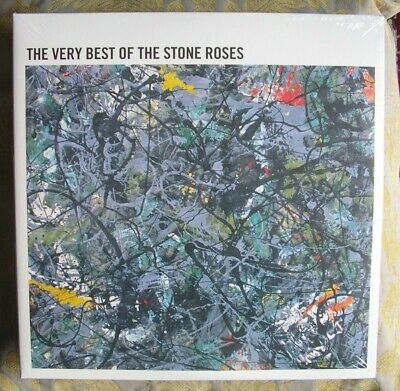 STONE ROSES VERY BEST OF 2 LPS 15 TRACK 180g VINYL GATEFOLD SEALED UNPLAYED LOOK • 18.89£