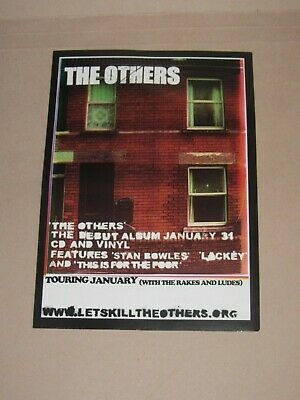The Others Promo Debut Album Flyer 2005 Stan Bowles Lackey This Is For The Poor • 0.99£
