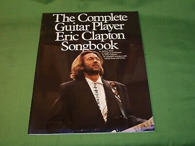 1991 Complete Guitar Player Eric Clapton Songbook Sheet Music 22 Songs 48 Pages • 7.99£