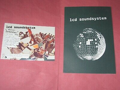LCD Soundsystem Promo Flyer DFA Daft Punk Is Playing At My House Tribulations • 0.99£