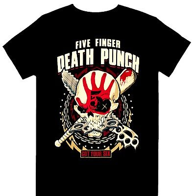 Five Finger Death Punch - Zombie Fall World Tour 2017 Official Licensed T-Shirt • 19.99£