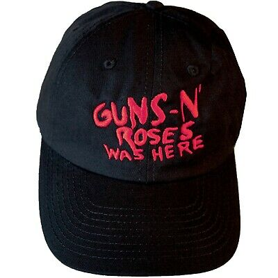 Guns N' Roses  -  Was Here  Embroidered Logo Official Licensed Tour Baseball Cap • 19.99£