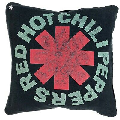 Vintage Red Hot Chili Peppers Rock Tee T Shirt Pillow Cover Handmade 16 X 16 • 10.63£
