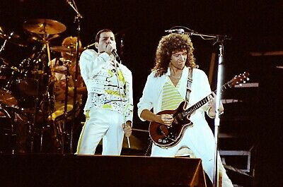 QUEEN In Concert Knebworth 1986, 60 PHOTOS! Freddie's Final UK Gig! (Set 2of2)  • 14.95£