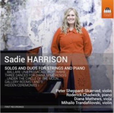 Sadie Harrison: Solos And Duos For Strings And Piano CD NEW • 14.13£