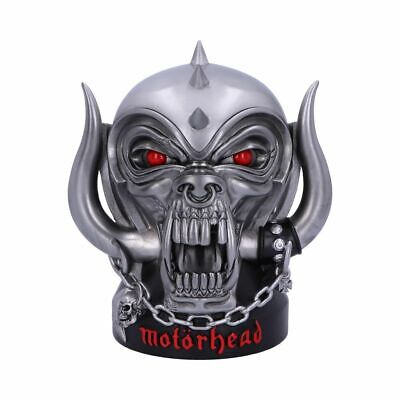 MOTORHEAD Offically Licensed 16cm Warpig Storage Box Gift BNIB Nemesis FREE P+P • 39.99£