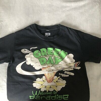Official Green Day 'Welcome To Paradise' T-Shirt Size Small • 4.50£