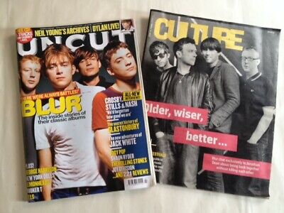 Blur 2 Magazines Featuring The Band On Front Page Uncut July 2009 / Culture 2015 • 3£