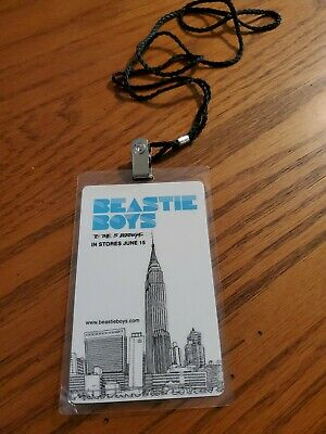Beastie Boys Tag For  To The 5 Boroughs   • 7.40£