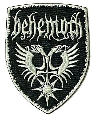 BEHEMOTH - Embroidered Patch Sew Iron On Black Death Metal Nergal • 2.95£