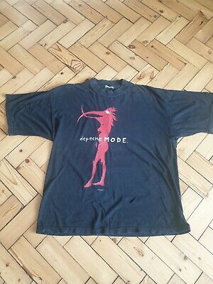 Depeche Mode T Shirt Walking In My Shoes 1993 • 75£
