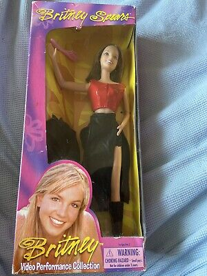 Britney Spears Doll 1999 Born To Make You Happy Video Performance 25 BRUNETTE • 33£
