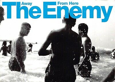 The Enemy Awy From Here Postcard Advertising Memorabillia Flyer Postcard • 7.99£