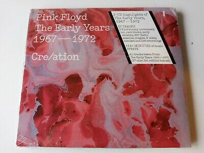 Pink Floyd - The Early Years 1965-72 Cre/ation 2cd New And Sealed • 10.99£